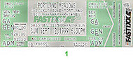 Phish Vintage Ticket