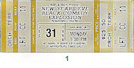 Paul Mooney Vintage Ticket
