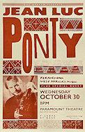 Jean-Luc Ponty Poster