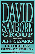 David Sanborn Group Poster