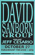 David Sanborn GroupPoster