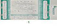 Al Jarreau Vintage Ticket