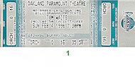 Tom WaitsVintage Ticket