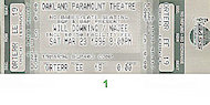 Will Downing Vintage Ticket