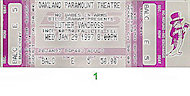 Luther VandrossVintage Ticket