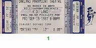 k.d. lang 1990s Ticket