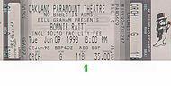 Bonnie Raitt1990s Ticket