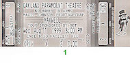 Maxwell Vintage Ticket