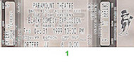 "Don ""DC"" Party Vintage Ticket"