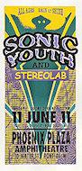 Sonic Youth Handbill