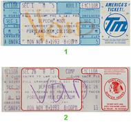 Depeche Mode 1990s Ticket