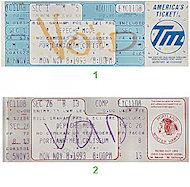 Depeche ModeVintage Ticket