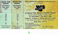 Yes 1970s Ticket
