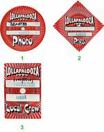 Lollapalooza Festival Backstage Pass