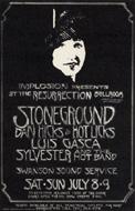 StonegroundHandbill