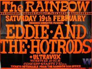 Eddie & the Hot Rods Poster