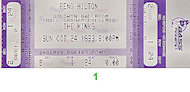 The Kinks Vintage Ticket