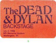 Grateful DeadBackstage Pass