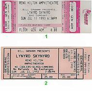 Lynyrd Skynyrd1990s Ticket