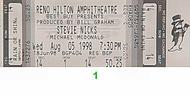 Stevie Nicks 1990s Ticket
