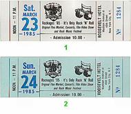 Fourteen Karat Soul 1980s Ticket
