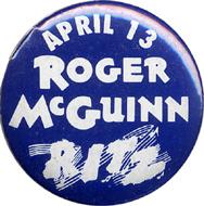 Roger McGuinnVintage Pin