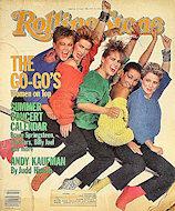 The Go-Go'sRolling Stone Magazine