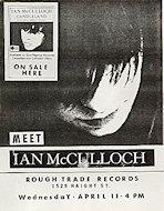 Ian McCulloughHandbill