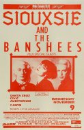 Siouxsie & the Banshees Poster