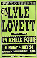Lyle Lovett &amp; His Large BandPoster