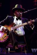 John Lee Hooker BG Archives Print