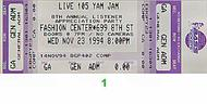 Big Audio Dynamite 1990s Ticket