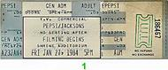 The Jackson 5 1980s Ticket