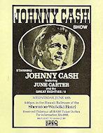 Johnny CashHandbill