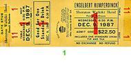 Engelbert Humperdinck1980s Ticket