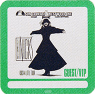Stevie Nicks Backstage Pass