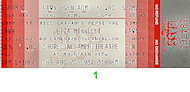 Liza Minnelli Vintage Ticket