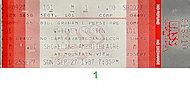Whitney HoustonVintage Ticket