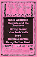 Lollapalooza Festival Poster