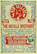 The Neville BrothersPoster
