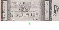Shania Twain1990s Ticket