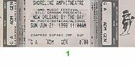 Buckwheat Zydeco 1990s Ticket