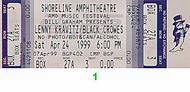 Lenny Kravitz 1990s Ticket