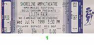 Sarah McLachlan1990s Ticket