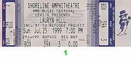 Lauryn Hill1990s Ticket