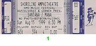 Santana1990s Ticket