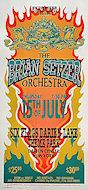 Brian Setzer Orchestra Poster