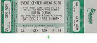 Duran Duran1990s Ticket