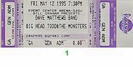 Dave Matthews Band1990s Ticket