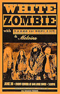 White Zombie Poster